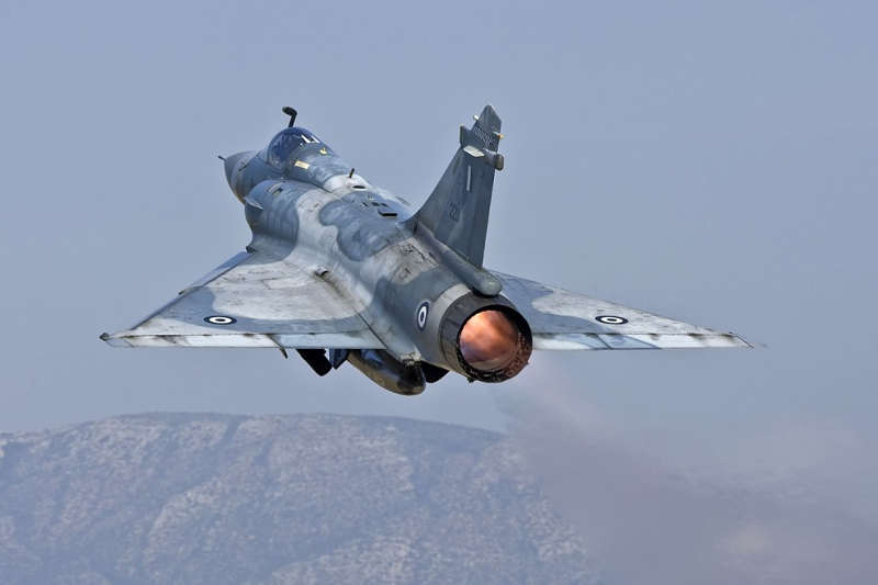 Build Greek detail  Mirage 2000